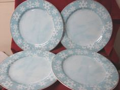 Pfaltzgraff China Dinnerware, Evergreen Ernie, Casa Moda Pattern 4 Dinner plate #CasaModa #Pfaltzgraff