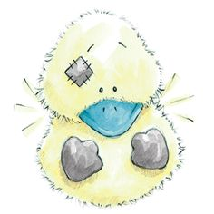 Dilly... the fluffy Duck who's sure to raise a smile... and keep you chirpy.
