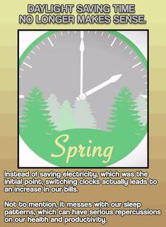 Daylight Saving Time & Other Everyday Customs That No Longer Make Any Sense #DaylightSavingTime