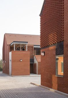 Hargood Close Colchester Essex, Micro Apartment, Arch House, Brick Facade, Brickwork, Concept Architecture, Home And Family, Architects, Exterior
