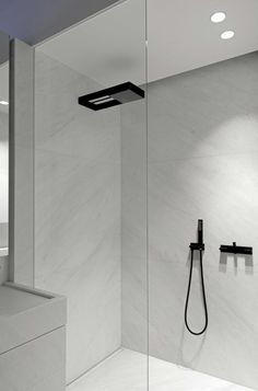 "Shower – ""Andrew"" bathroom taps by Co Studio for RVB Schöner in beton Douche – ""Andrew"" badkamer kranen door Co Studio voor RVB Schöner in beton Share your vote! Minimalist Bathroom Design, Modern Bathroom Design, Bathroom Interior Design, Bathroom Designs, Home Interior, Modern Minimalist, Bathroom Toilets, Small Bathroom, Master Bathroom"