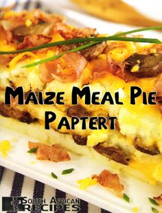 South African Recipes | PAPTERT