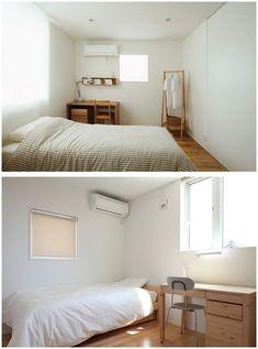 Interior Living Room Design Trends for 2019 - Interior Design Japan Bedroom, Home Bedroom, Bedroom Decor, Bedroom Kids, Bedrooms, Minimalist Apartment, Minimalist Room, Korean Bedroom, Muji Home