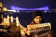 Fırat Kekevi, Cumhuriyet Newspaper, Bosphorus Bridge and Türkiyemspor Berlin
