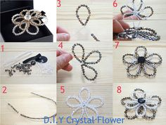 D.I.Y Crystal Flower Tutorial