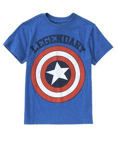 Legendary Captain America™ Tee at Crazy 8