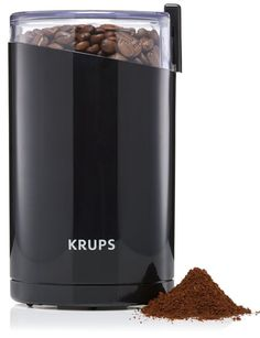 Electric Coffee and Spice  Grinder New With 3 Removable Stainless Steel Blades  #KRUPS