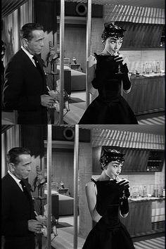 Daiquiri   Flickr - Photo Sharing Audrey Hepburn & Humphrey Bogart!