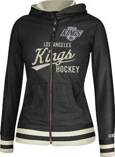 Amazon.com: Los Angeles Kings Women's NHL Full Zip Hooded CCM Sweatshirt: Sports…