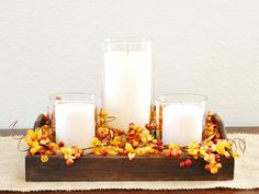 Fall Centerpieces - Thanksgiving Decorating Ideas - Country Living