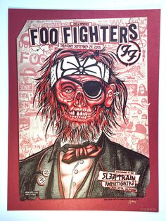 Foo Fighters San Diego 2015 Poster by Zoltron