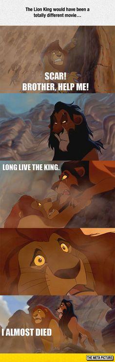 The Lion King, Alternative Ending