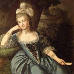 Princesa de Mónaco, nacida Maria-Catalina de Brignole-Sale