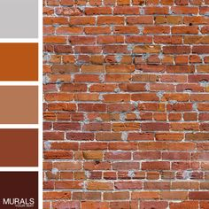 Wow Old Brick Wall Color Scheme Paint Old Brick