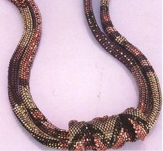 The Polygon Weave:  My favorite off loom bead weaving stitch; pattern for sale at: https://www.etsy.com/shop/WearableArtEmporium (in the Unique Section)