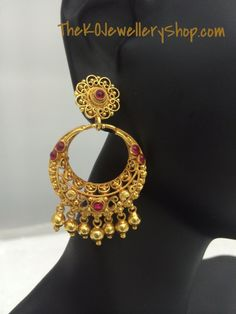 Classic, sensuous and intricate, these Chaand Bali Earrings are going to be the taaras of your chaand jaisa mukhda.  These beautiful stars made in pure silver and dipped in 24k gold cost just Rs. 3,950/-.  Just 4 sets in stock. Buy them here: http://thekojewelleryshop.com/collections/latest-arrivals/products/the-silver-chand-bali-earrings-gold-plated-bali-jhumkas