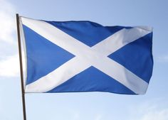 The National Flag of Scotland.