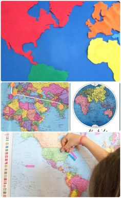 Wonderful hands-on activities that teach kids about maps! Great geography activities