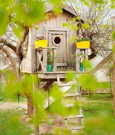 A tree house, of course.