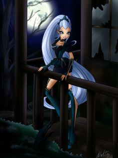 Icy Halloween - The Winx Club Fairies Fan Art (36688195) - Fanpop