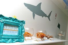 Goldfish Bar: Take a box and make a mix. Sea creatures are the perfect hunger fix!
