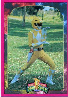 Power Rangers - Trini/Yellow Ranger  trading card
