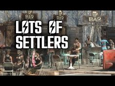 How to Attract LOTS of Settlers - Fallout 4 Settlements Fallout 4 Secrets, Fallout 4 Tips, Fallout Four, Fallout Game, Very Funny Jokes, Silly Jokes, Free Jokes, Fallout 4 Weapons, Fallout Settlement