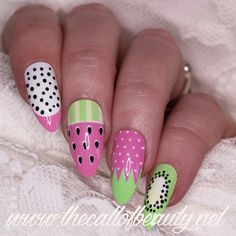The Call of Beauty: Nail Crazies Unite: Fresh Fruit - Nail Challenge Collaborative: Pastels #2