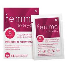 Femme Everyday intimate wipes x 12 pieces