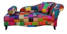 Divan, Kantha embroidery