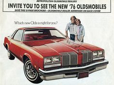 1976 Oldsmobile Cutlass Supreme.