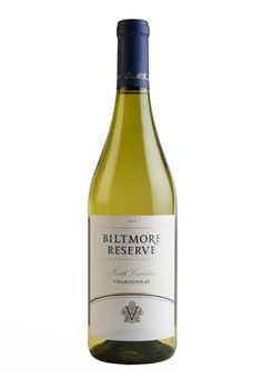 Biltmore Reserve Chardonnay North Carolina Savor this buttery, full-bodied Chardonnay with good acidity highlighted by citrus and tropical fruit flavors.