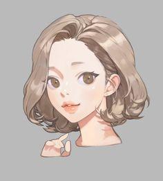 Art And Illustration, Character Illustration, Kunst Inspo, Art Inspo, Pretty Art, Cute Art, Art Sketches, Art Drawings, Wie Zeichnet Man Manga
