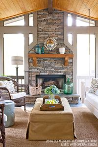 5 Tips for Trendy Home Decor on a Budget - Sweet Home And Garden Stone Fireplace Decor, Fireplace Design, Fireplace Ideas, Trendy Home Decor, Affordable Home Decor, Love Your Home, Outdoor Rooms, Home Improvement Projects, Kitchen Remodel