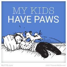 Share if your kids have paws, too!