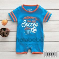 Holabebe -Baby Clothes / Baby Jumper - Mommy's Cute Little Soccer Star