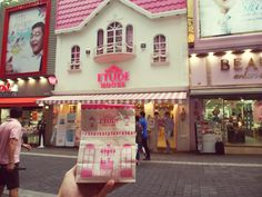 Etude House by Stin Shen Cafe Apron, House Tokyo, Places In Tokyo, Spa, Amazing Buildings, Etude House, Candy Shop, Makeup Shop, Cafe Design