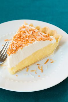 Coconut Cream Pie - this pie is amazing (love how it has a little cream cheese mixed in). Another Thanksgiving must!