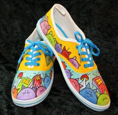 diy shoes get canvas shoes draw design use fabric