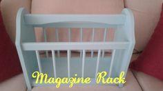 Magazine Rack I painted