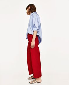 Image 4 of CULOTTES from Zara