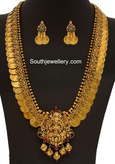 Antique Gold Kasu Mala