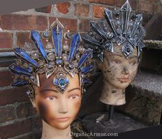Color variations on Akasha headdresses