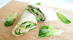 Gezonde Wrap met Zalm en Avocado - Optima Vita