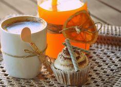 Cupcakes de dátiles de nueces
