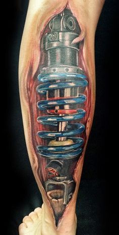 Biomechanical Tattoo (14)