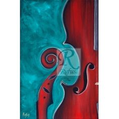 Fine Art Giclee Print of the painting Fiddle Head by Rufus Giclee Print, Fine Art, Wall Art, Painting, Painting Art, Paintings, Visual Arts
