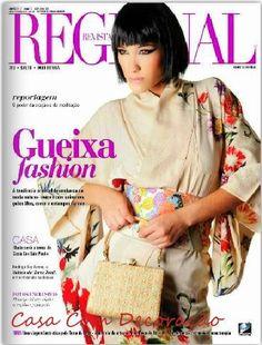 Revista Regional- Matéria que participei na seção Casa- Cantinhos de Fé