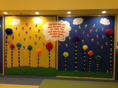 Dr. Suess bulletin Board