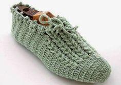 Irish crochet &: Вязаные сапожки. Схемы.